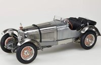 1930 Mercedes-Benz SSK in Clear Finish in 1:18 Scale by CMC