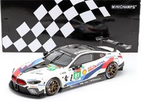 BMW M8 GTE #81 Le Mans 2018 in 1:18 Scale by Minichamps