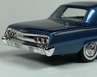1962 Chevrolet Impala SS Hardtop Nassau Blue Poly in 1:43 Scale by Goldvarg Collection