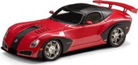2010 Devon GTX with Spoiler in 1:43 Scale by Esval Models