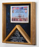 Flag and Certificate Display Case: Combo by AAG