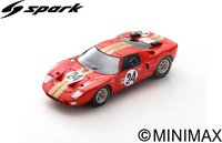 Ford GT40 AMR2 No.24  12H Sebring 1966  G. Hill - J. Stewart in 1:43 scale by spark
