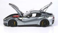 Ferrari F12 TDF Titanium Gray in 1:18 scale by BBR