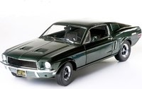 1968 Ford Mustang GT Fastback Steve McQueen Bullit in 1:18 Scale by Greenlight