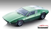 1971 De Tomaso Mangusta Tara Green in 1:18 Scale by Tecnomodel