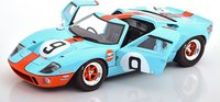 Ford GT40 Winner 24h Le Mans 1968 Gulf Diecast by Solido in 1:18 Scale