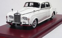 1963 Rolls-Royce Silver Cloud III in White in 1:43 Scale by True Scale Miniatures