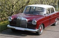 1966 Mercedes-Benz 200 Red in 1:18 scale by Norev