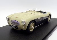 Austin Healey 100S green/white 1:18 scale by cult models