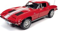 1963 Corvette Stingray Z06 Coupe in 1:18 Scale by Auto World