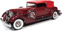 1934 Packard V12 Victoria Soft Top in 1:18 scale by Auto World