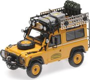 Land Rover Defender 90 Camel Trophy Edition Diecast Model in 1:43 by Almost Real