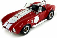 1965 Shelby Cobra 427 S/C with Carroll Shelby's signature in 1:18 scale by Shelby Collectibles