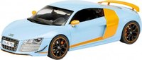 Audi R8 GT V10 Gulf  Diecast Model Car in 1:43 Scale by Schuco
