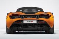 2017 McLaren 720S in Orange Resin Model in 1:18 Scale by Tecnomodel