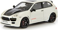 2010 Porsche Cayenne 2 Door Coupe by Merdad White/grey in 1:43 Scale by Esval Models