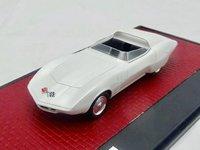 1968 Chevrolet Astrovette Concept in White Metallic in 1:43 Scale by Matrix