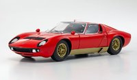 Lamborghini Miura P400S Diecast Model Car in 1:18 Scale by Kyosho