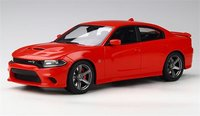 2020 Dodge Charger SRT Hellcat in TorRed 1:18 Scale By GT Spirit