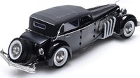 1937 Duesenberg SJ Top Fully Closed Version in 1:18 Scale by Esval Models