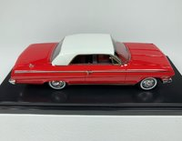 1962 Chevrolet Impala SS Hardtop Roman Red-white roof in 1:43 Scale by Goldvarg Collection