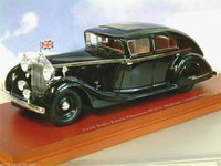 "1936 Rolls-Royce Phantom III ""Monty Rolls""  Model Car in 1:43 Scale by Truescale Miniatures"