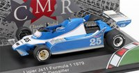 Ligier JS11 F1 #25 1979 in 1:43 Scale by CMR