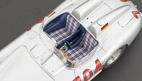 Mercedes-Benz 300 SLR, 1955 Mille Miglia, #704, Limited Edition of 2,000 pcs Diecast Model Car by CMC in 1:18 Scale