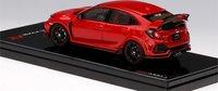 Honda Civic Type R  Rallye Red RHD Diecast in 1:43 Scale by TSM