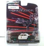 1977 Dodge Monaco Metropolitan Police The Terminator (1984)  (GREEN WHEELS) in 1:64 scale by Greenlight