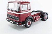1969 MERCEDES BENZ LPS 1632 TRACTOR TRUCK in red 1:18 scale by Road Kings