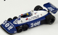 Tyrrell P34 #3  Brazilian GP 1977 in 1:18 Scale by Spark