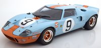 Ford GT40 #9 Le Mans Winner 1968 Rodriguez Bianchi in 1:18 Scale  by Spark
