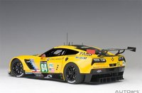 Chevrolet Corvette C7.R LeMans 24 Hrs 2016 #64 Composite Model Car in 1:18 Scale by AUTOart
