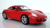 Porsche Cayman S Red in 1:18 scale by Maisto