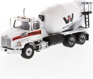 Western Star 4700 SBFA Tandem with Mixer White in 1:50 scale by Diecast Masters