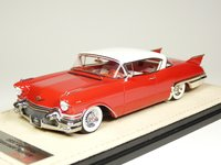 1957 Cadillac Eldorado Seville Dakota Red in 1:43 Scale by GLM