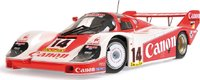 Porsche 956 K - Canon Racing - Rosberg/Lammers/Palmer - 3rd Place Nuerburgring 1000 Kilometers 1983 Diecast Model in 1:18 Scale by Minichamps