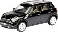 Mini Countyman in Absolute Black Diecast Model Car in 1:43 Scale by Schuco