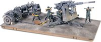 German Krupp Flak 36 With Gun Barrel & Tow Vehicle in 1:32 scale by Forces of Valor