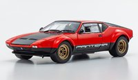 DE TOMASO PANTERA GT4 RED in 1:18 scale by Kyosho