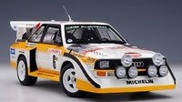 AUDI QUATTRO S1 RALLY MONTE CARLO 1986 H.MIKKOLA/A.HERTZ #6 in 1:18 scale by AUTOart