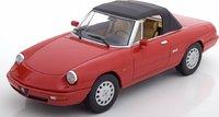 1990 Alfa Romeo Spider 4 in Red 1:18 by KK in 1:18 Scale