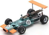 BRM P133 NO.12 SPANISH GP 1969 JACKIE OLIVER in 1:43 scale by Spark