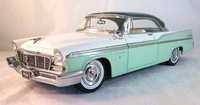 1956 Chrysler New Yorker St. Regis in Surf Green Poly Diecast by Acme in 1:18 Scale