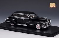 1942 Cadillac Series 67 Black in 1:43 Scale by Stamp Models