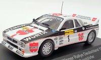 LANCIA 037 Winner Rallye Germany 1983 in 1:43 scale by CMR
