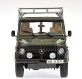 1981 MERCEDES-BENZ 230 GE (W460-461) in GREEN METALLIC Diecast Model Car in 1:43 Scale by Minichamps