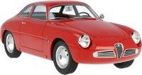 1961 Alfa Romeo Giulietta Sprint Zagato red in 1:18 scale by Cult