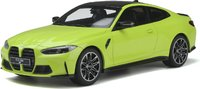 BMW M4 Yellow in 1:18 scale by GT Spirit
